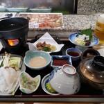 ふく仙 - 料理写真:たこたこ御膳 豪勢だわ( *´艸)