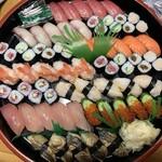 ん寿司 - 「5人前盛り合せ・上 ¥7500」が「¥7000」になりますヽ(*⌒▽⌒*)ノ