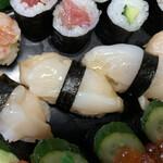 ん寿司 - 「つぶ貝」は甘味と歯応えのコラボレーション〜♫