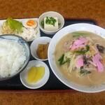 キリン亭 - 料理写真:長崎チャンポン定食