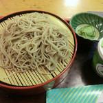 玉川 そば店 - 料理写真:もりそば170g(590円)_2012-06-12