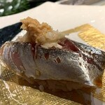 第三春美鮨 - 真鰺 85g 瀬付き 釣 兵庫県沼島
