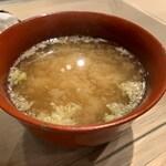 第三春美鮨 - みそ汁