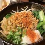 餃子バル - 汁なし担々麺