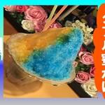 お好み焼きとかき氷の店 590 - ダブル蜜かけかき氷