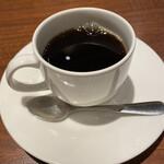 オステリア ハミングバード - セットのホットコーヒーです