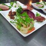 小燕京 - 料理写真:コース料理の前菜6品です。