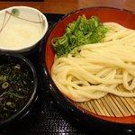 丸亀製麺 南大分店 - ざる並280円に大根おろし追加
