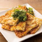タイズ - 鶏ひき肉のタイオムレツ