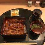 炉ばたとうなぎ 瓢箪 - うな重(税込み3190円)