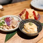 地鶏専門店 彩鶏どり - 前菜3種
