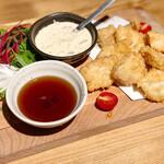 地鶏専門店 彩鶏どり - 胸肉のチキンカツ