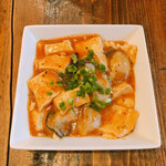 kakisakabatsudoisasakimagobexe - 牡蠣の辛味噌豆腐
