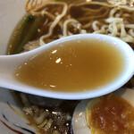銀座 天龍 - スープ