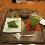 寿月堂 - 煎茶セット(お菓子付き)『特選寿月』 890円