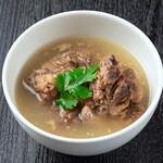 焼肉チャンピオン - 濃厚テールスープ