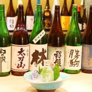 ★日本酒地酒にこだわる:料理に合わせた日本酒をご提供。