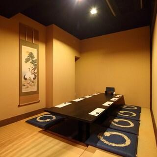 ★接待や会食に使える完全個室席完備