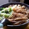 山のうどん屋 - 料理写真:かけうどん+きんぴらトッピング