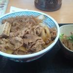 吉野家 - 牛鍋丼大盛+追っかけ(豆腐しらたき)