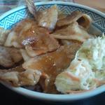 吉野家 - 焼味豚丼大盛