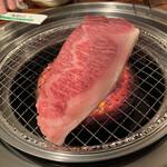 肉のオカヤマ直売所 - さっちゃんが焼いてくれた^ ^