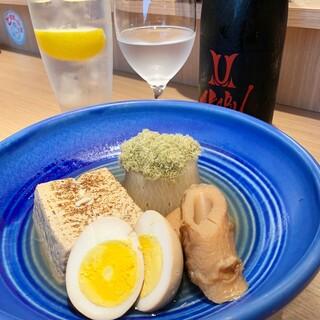 日本酒にぴったりの創作おでんが人気!