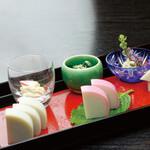 鈴廣かまぼこ - 料理写真:鈴廣の板わさ