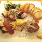 Daurade - 前菜盛合せ 4種類  ¥2000