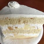 134457741 - 桃のショートケーキ