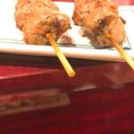 加賀屋 - カシラ塩。肉肉しくおいしい
