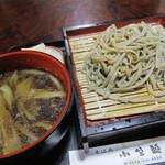 小野越 - 料理写真:鴨汁そば
