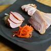九条ねぎ焼きとワイン やまざき - 料理写真:覚王山ベーコン3種盛り