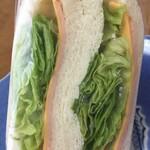 横浜サンド - チーズとハムとレタス