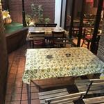 ラス ボカス - 広いテーブルの外テラス席