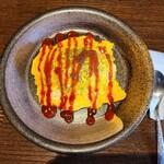 cafe橙 - オムライス(800円)です。