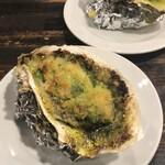 ラス ボカス - 牡蠣ガーリックバター焼き
