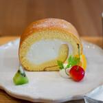 キッサ マシマロ - ロールケーキ プレーン