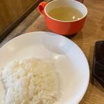 すてーき亭 - ご飯・スープ食べ放題