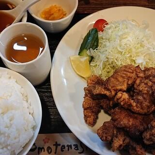 kei楽 - 料理写真:レバー唐揚げ定食¥1,110