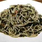 イタリア食堂 DecoBocco - 田中屋海苔店の1等海苔とトマトのペペロンチーノ
