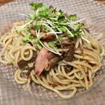 イタリア食堂 DecoBocco - 冷製! 鴨肉とエノキダケのバルサミコレモンソース