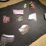 館山海の物産センター銀座船形 - なんとこれがお通し