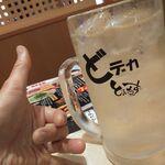 水炊き・焼鳥・鶏餃子 とりいちず - どデカ・宝焼酎ハイボール550円+濃い目0円