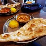 デリマハル - 料理写真:Aランチ(チキンカレー)