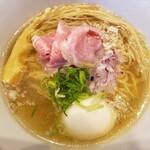 らぁ麺 鳳仙花 - 味玉らぁ麺