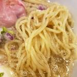 らぁ麺 鳳仙花 - 全粒粉麺