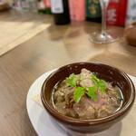 イタリアンバル キクバル - 鶏白レバーのコンフィ