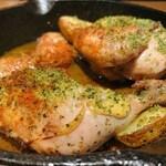 Ikariyasanrokugo - 丸鶏香草パン粉焼き ハーフ