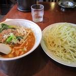 風神ラーメン - 坦々つけ麺(大盛)  840円
